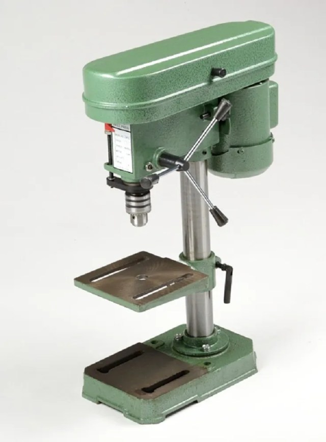 Bench Top Mini Drill Press 5 Speed for Wood or Metal Hobby Table Top
