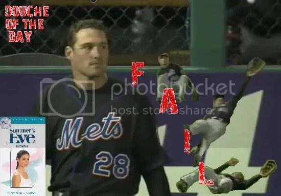 DOUCHE OF THE DAY + FAIL STAMP: DANIEL MURPHY
