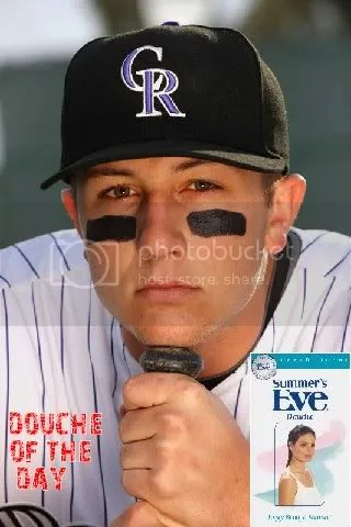 DOUCHE OF THE DAY: TROY TULOWITZKI