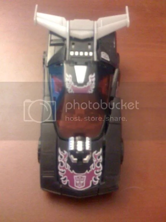 Botcon 2008 Shattered Glass Evil Autobot Rodimus Car Mode