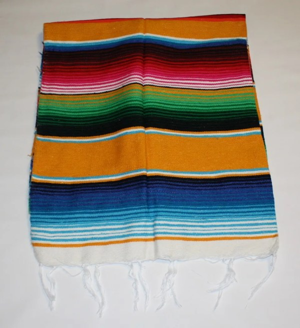 Sarape Serape Mexican Blanket Saltillo Southwest Throw
