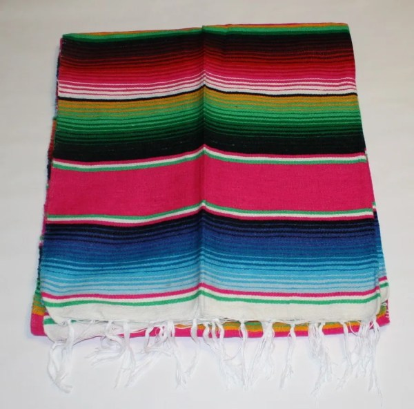 Sarape Serape Mexican Blanket Saltillo Southwest Throw