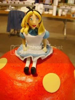 Close Up- Marzipan Alice In Wonderland