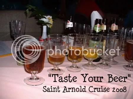 Saint Arnold Beer Tasting 2008