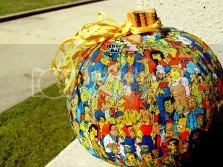 Mod Podge Pumpkin, with FABRIC
