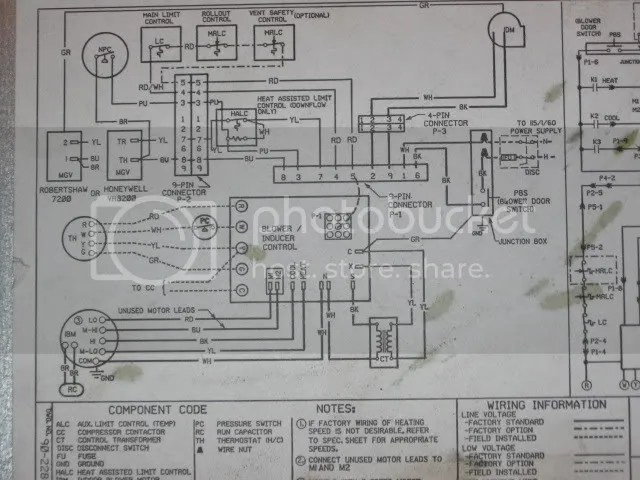 rheem air conditioner thermostat wiring diagram seven pin trailer carrier handler | get free image about