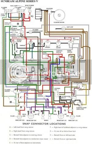 Morris Minor Wiring Diagram  Wiring Diagram & Schematics