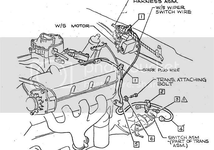1967 Transmission Kickdown Harness : 34 Wiring Diagram