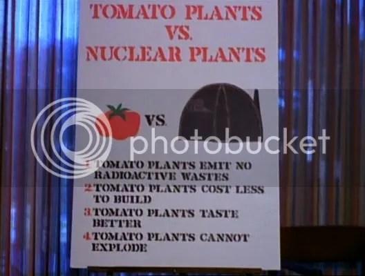 Tomato Plants VS. Nuclear Plants