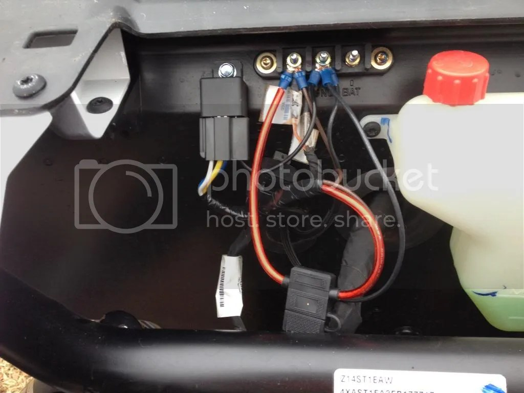 polaris ranger wiring diagram 1997 honda accord fuse box help with install light bar - rzr forum forums.net