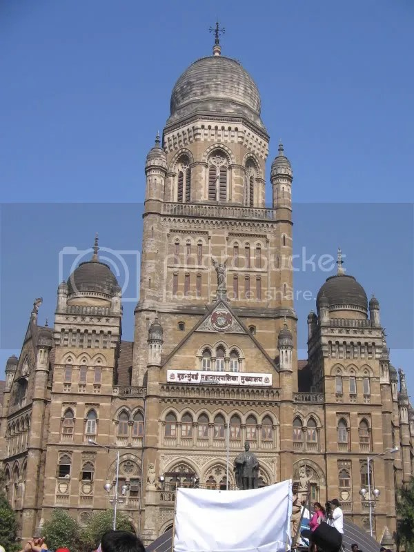 An egregious example of colonial architecture in India - the Mumbai Municipal Corporation building