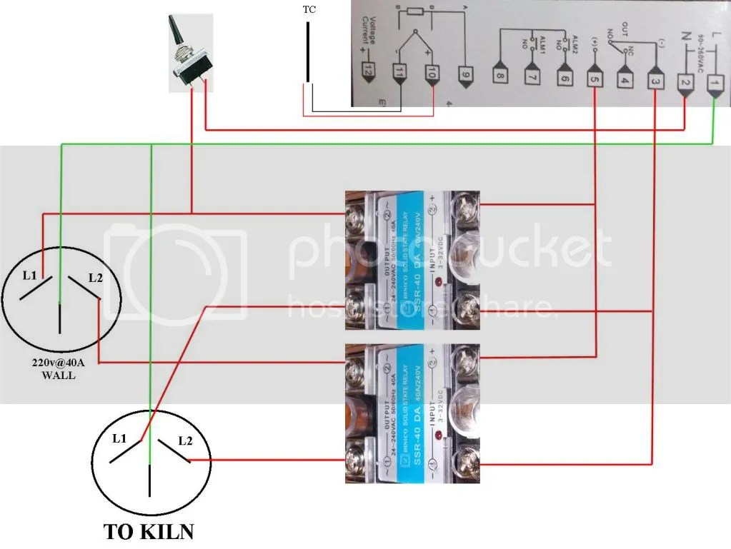 hight resolution of digital controller for old kiln bladeforums com img pid ssr wiring diagram