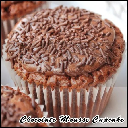 Chocolate Mousse Cupcake