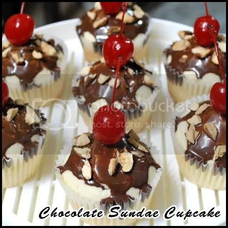Chocolate Sundae Cupcake