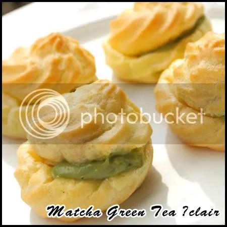 Matcha Green Tea Éclair