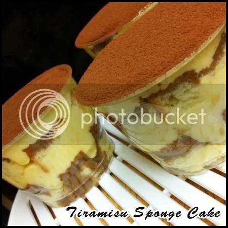 Tiramisu Sponge Cake