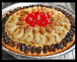Butter Fruits and Nuts Cake