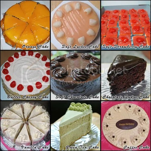 X's Mas & New Year Cakes – Set 1