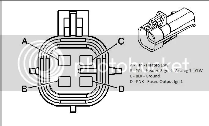 honda heated oxygen sensor wire diagram oxygen sensor