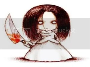 Knife Girl Pictures, Images and Photos