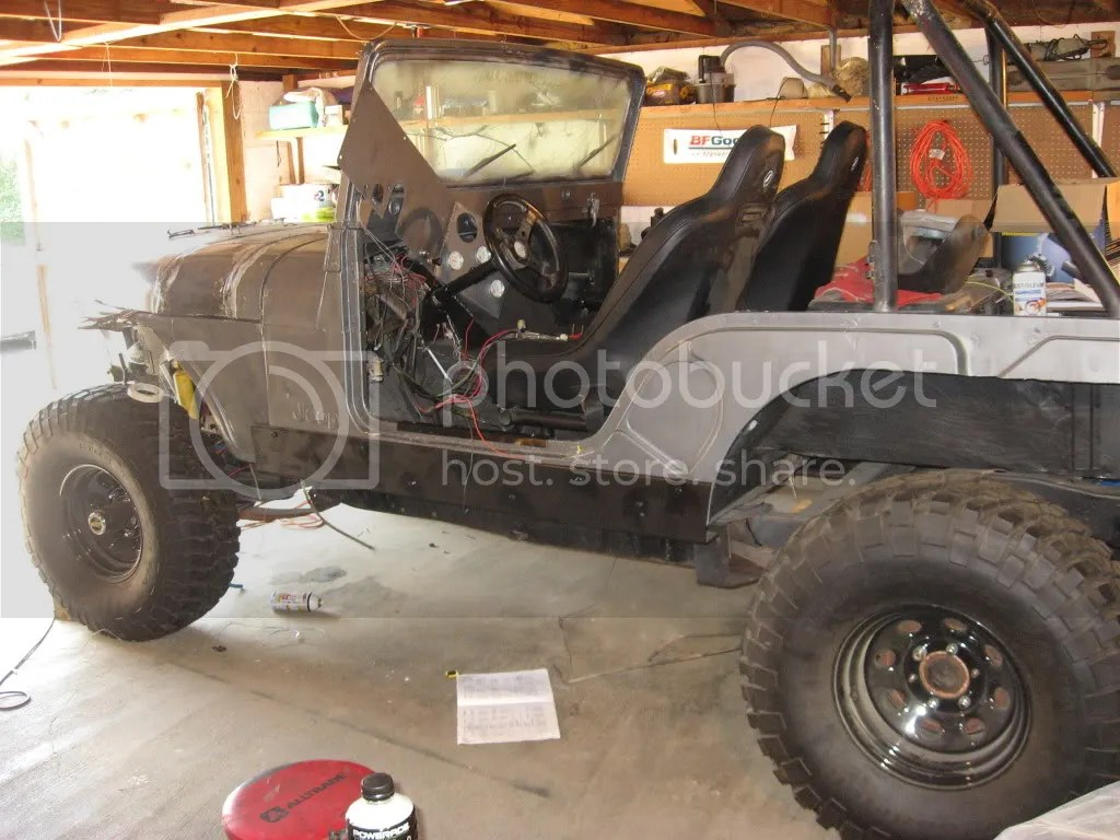 hight resolution of here is mine stretched at door 14 inches not a cj 7 frame though