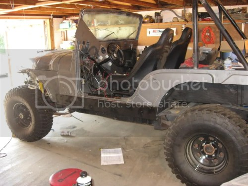 small resolution of here is mine stretched at door 14 inches not a cj 7 frame though
