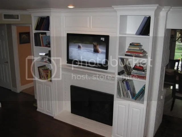 Flat Screen TV Over Fireplace Ideas For Making It Look Nice?