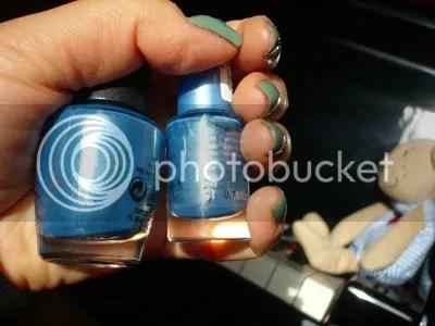 frisco gleam in blue