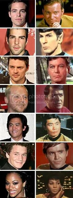 Star trek movie Cast