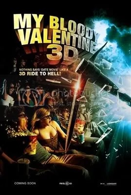 My Bloody valentine Movie Poster