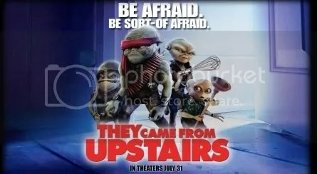The aliens from They Came From Upstairs Movie