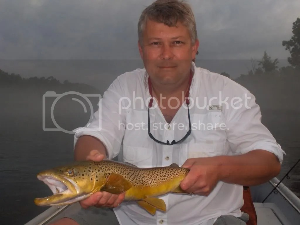 Robert Hime and one very nice brown