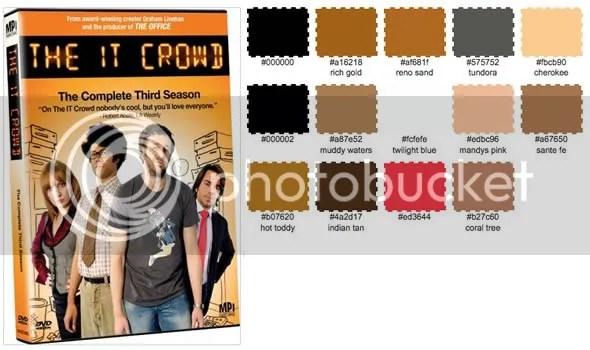 The IT Crow Paleta de Color