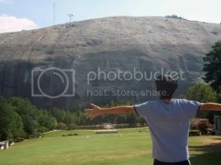 Click images to see my Stone Mountain vacay