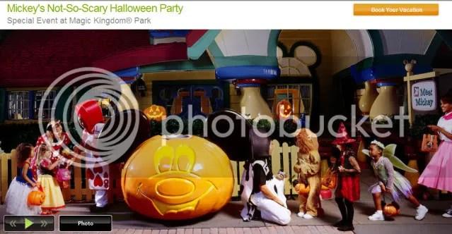 Mickey's Not-So-Scary-Halloween website