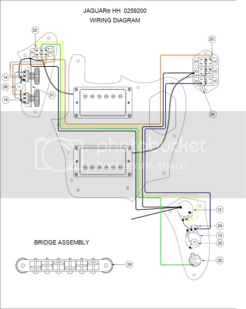 small resolution of jaguar fender humbuckers wiring schematic wiring diagram sheet fender classic player jaguar hh wiring diagram jaguar