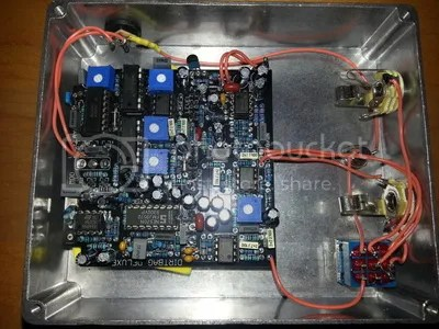 Dirtbag Deluxe PCB gutshot