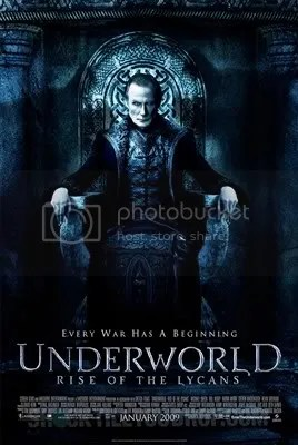 Underworld 3 Rise of The Lycans movie poster