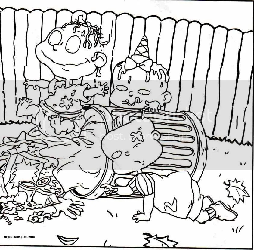 Coloring Pages For Girls: Nickelodeon Coloring Pages