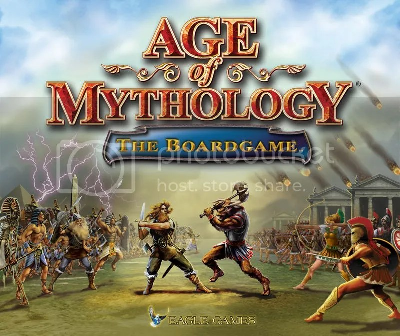 The cover of the Age of Mythology Board Game. It's straight up the CD cover art.