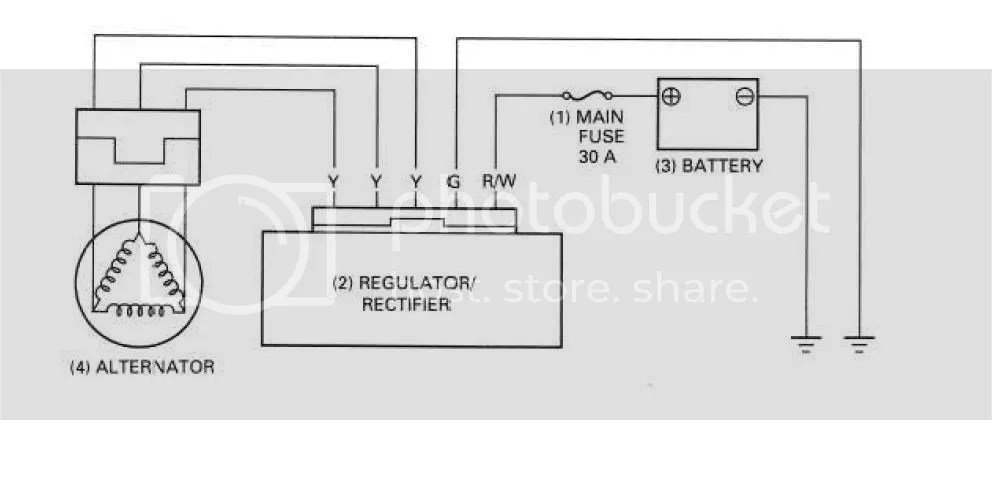 Regulator, 3 yellow wires, which goes where?