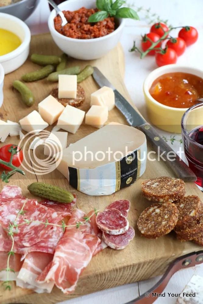 Italiaanse borrelplank