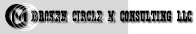 Broken Circle M Logo