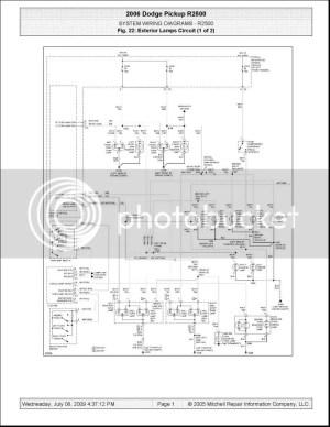 Wiring Schematic for 06 mega 3500 DRW  Dodge Cummins