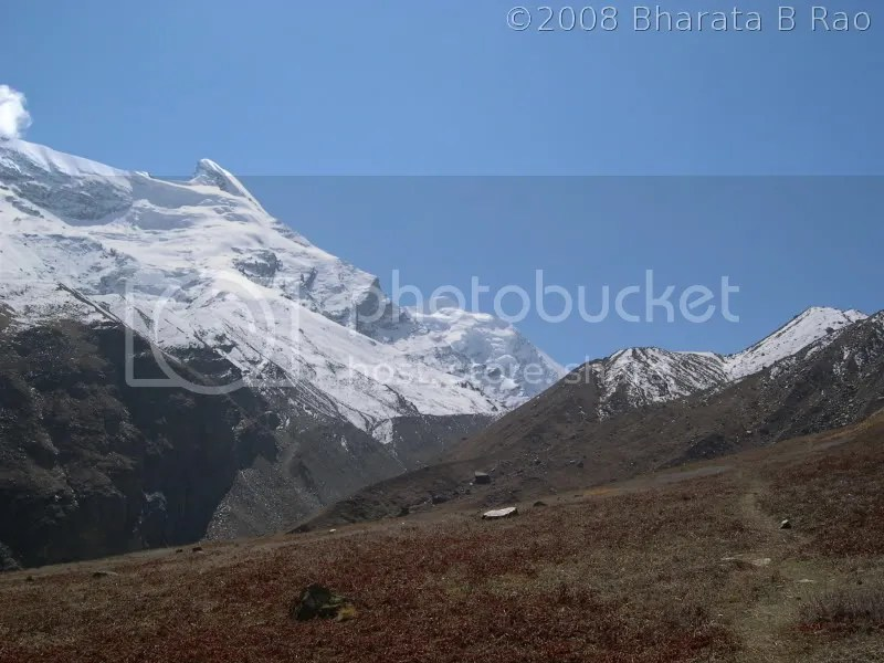 Jogin peak as seen from Rudragaira BC