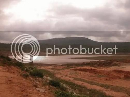 Muninagara lake and hill