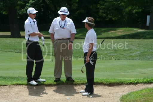 Players and USGA Rules Official Sort Out A Conundrum