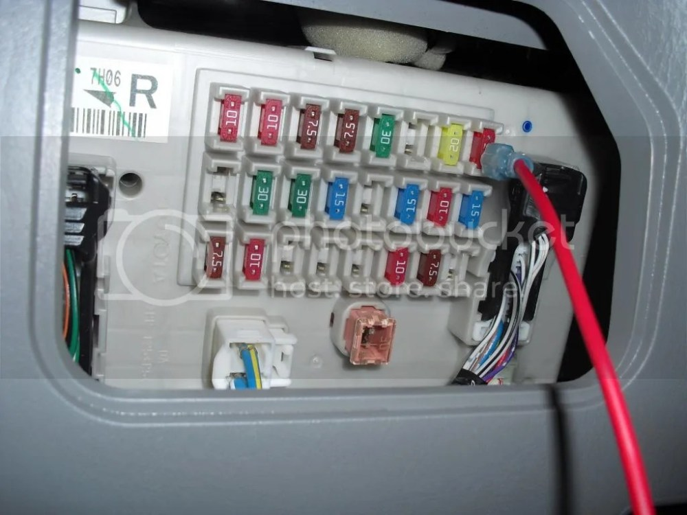 medium resolution of 2005 4runner fuse box diagram wiring diagram schematics 2006 trailblazer fuse box 2006 4runner fuse box