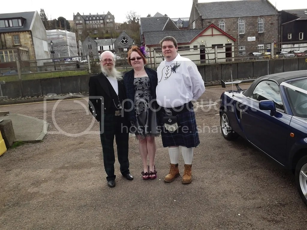 John, Laura and Gordon
