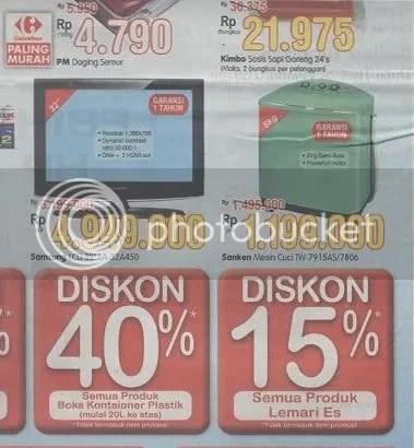 Promo Kompas Carrefour 20 Maret 2009